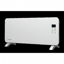 CONCEPT KS4000 Konvektor skleněný s montáží na zeď a dálkovým ovládáním bílý