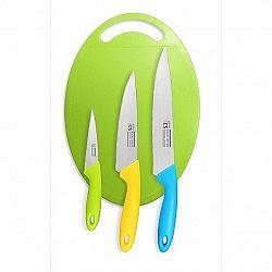 CS Solingen 4dílná sada nožů s prkénkem