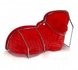 CULINARIA Banquet Forma silikonová Beránek červená, 30 x 16 x 9,5 cm
