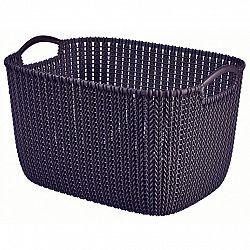 Curver Úložný box Knit  19 l, tmavě fialová