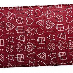 Dakls Ubrus Vánoční čas, 40 x 36 cm