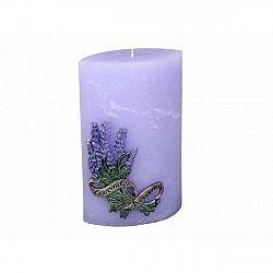 Dekorativní svíčka Lavender, hranol