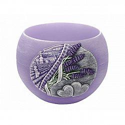 Dekorativní svíčka Lavender Kiss lampion