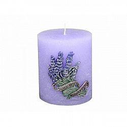Dekorativní svíčka Lavender, válec