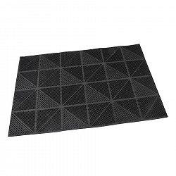 Flomat Venkovní rohožka kartáčová Triangles, 40 x 60 cm