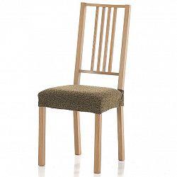 Forbyt Multielastický potah na sedák na židli Petra gold, 40 - 50 cm, sada 2 ks