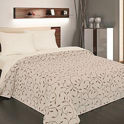 Forbyt Přehoz na postel Indiana hnědá, 240 x 260 cm, 240 x 260 cm