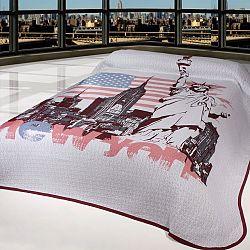 Forbyt Přehoz na postel New York, 240 x 260 cm