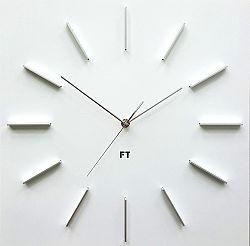Future Time FT1010WH Square white Designové hodiny