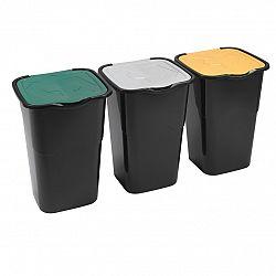 Heidrun Sada odpadkových košů 3x 50 l