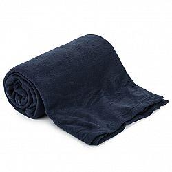 Jahu Fleecová deka UNI tmavě modrá, 150 x 200 cm