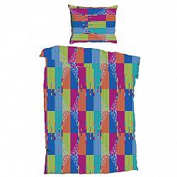 Jahu Krepové povlečení Bruno Color, 140 x 200 cm, 70 x 90 cm