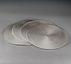Jahu Prostírání Deco kulaté, sada 4 kusů, 35 cm