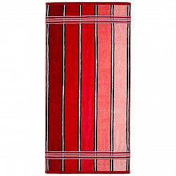 Jahu Ručník Rainbow červená, 50 x 70 cm