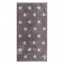 JAHU Ručník Stars šedá, 50 x 100 cm