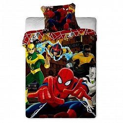 Jerry Fabrics Dětské povlečení Spiderman Hero, 140 x 200 cm, 70 x 90 cm