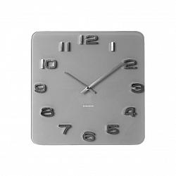 Karlsson 5488GY Designové nástěnné hodiny, 35 cm