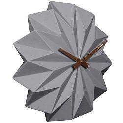 Karlsson KA5531GY Designové nástěnné hodiny, 27 cm