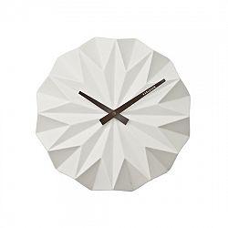 Karlsson KA5531WH Designové nástěnné hodiny, 27 cm
