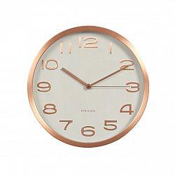 Karlsson KA5578WH Designové nástěnné hodiny, 29cm