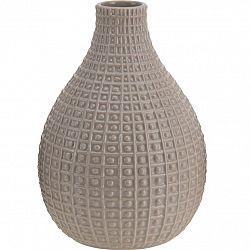 Keramická váza Pompei béžová, 28 cm