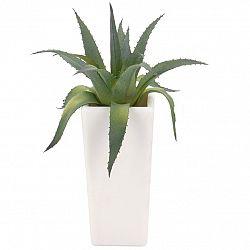 Koopman Umělá Aloe Vera v květináči, 20 cm