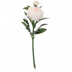 Koopman Umělá květina Pivoňka bílá, 61 cm