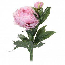 Koopman Umělá květina Pivoňka světle růžová, 61 cm