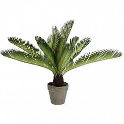 Koopman Umělá Palma v květináči světle zelená, 50 cm