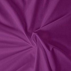Kvalitex prostěradlo satén tmavě fialové, 120 x 200 cm