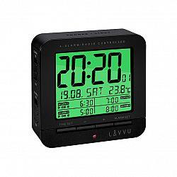 LAR0011 Digitální budík LAVVU Black Cube