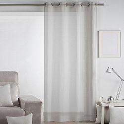Matějovský Záclona Lilien šedá, 140 x 260 cm
