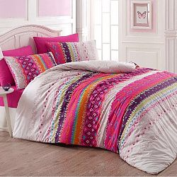 Nigh in Colours Bavlněné povlečení Melanie 220 x 200, 2x 70 x 90 cm, 220 x 200 cm, 2 ks 70 x 90 cm