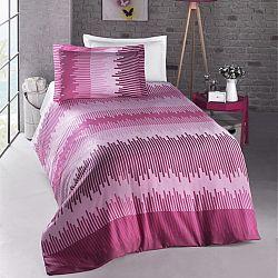 Night in Colours Bavlněné povlečení Energy pink, 140 x 200 cm, 70 x 90 cm