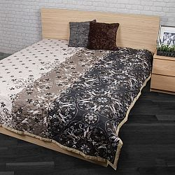 Night in Colours Přehoz na postel Alberica šedá 160x220, 160 x 220 cm