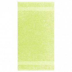 Night in Colours Ručník Olivia světle zelená, 50 x 90 cm
