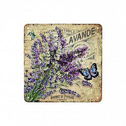 Obraz na kovové desce Bouquet de Provence, 20 x 20 cm