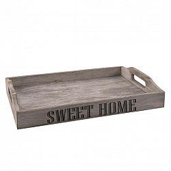 Orion Dřevěný podnos Sweet home, 35 x 23 x 5,5 cm