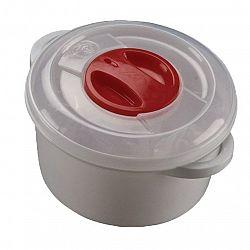 Plastový hrnec do mikrovlnné trouby 3 l, 3 l