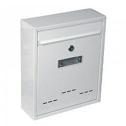 Poštovní schránka Radim M bílá, 26 cm
