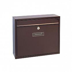 Richter Poštovní ocelová schránka Tarent, hnědá