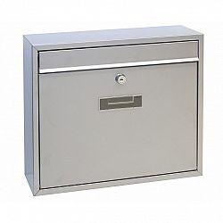 Richter Poštovní ocelová schránka Tarent, stříbrná