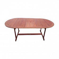 Rozkládací zahradní stůl Tana 150-200 x 100 cm, eukalyptus