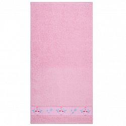Ručník Flamingo růžová, 50 x 100 cm, 50 x 100 cm