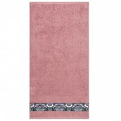 Ručník Tulip růžová, 50 x 100 cm, 50 x 100 cm