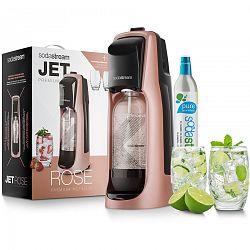 SodaStream Jet Premium Výrobník perlivé vody, růžová