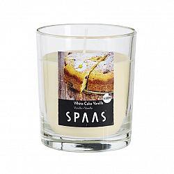 SPAAS Vonná svíčka ve skle White Cake Vanilla, 9 x 11 cm, 7 cm