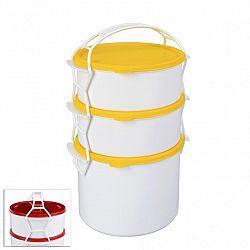 STAR Plastový jídlonosič 2 l + 2x1,2 l