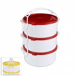 STAR Plastový jídlonosič 3x1,2 l