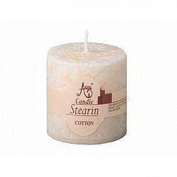 Stearinová svíčka Capri Bavlna, 5 cm